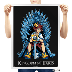 Kingdom of Hearts - Prints - Posters - RIPT Apparel