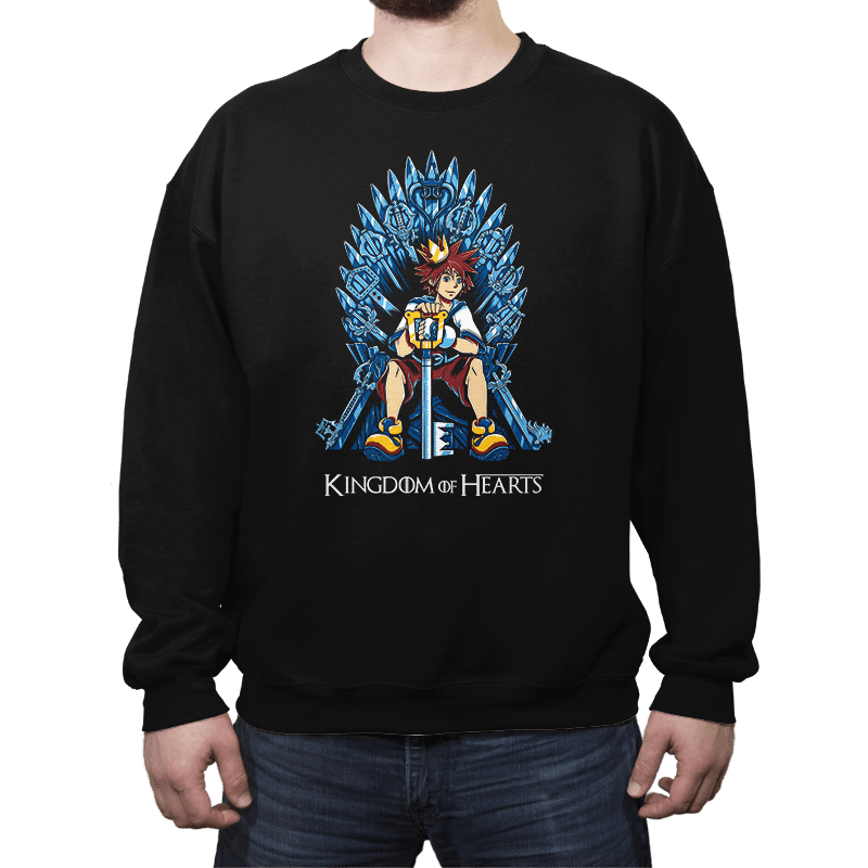 Kingdom of Hearts - Crew Neck - Crew Neck - RIPT Apparel