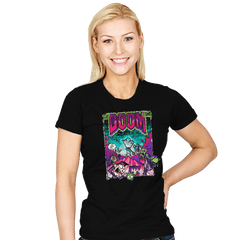 The Doom Song - Womens - T-Shirts - RIPT Apparel