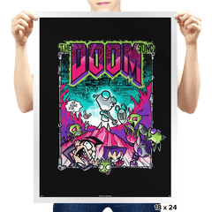 The Doom Song - Prints - Posters - RIPT Apparel