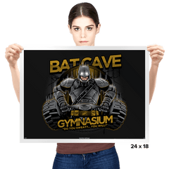 Bat Cave Gym - Prints - Posters - RIPT Apparel