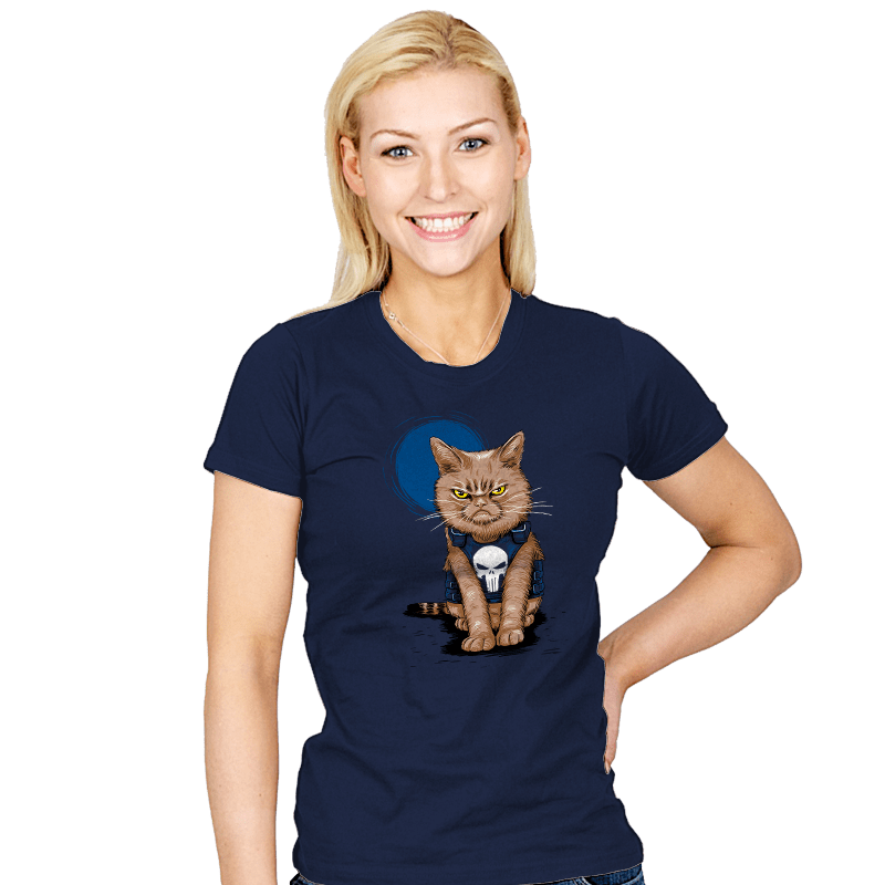 Cat Soldier - Womens - T-Shirts - RIPT Apparel