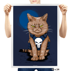 Cat Soldier - Prints - Posters - RIPT Apparel