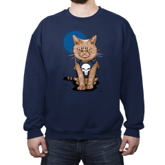 Cat Soldier - Crew Neck - Crew Neck - RIPT Apparel