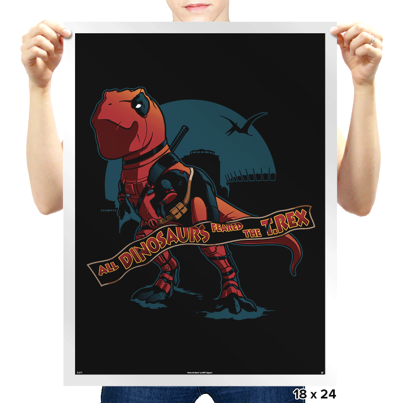 DeadRex - Prints - Posters - RIPT Apparel