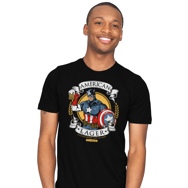 American Lager - Mens - T-Shirts - RIPT Apparel