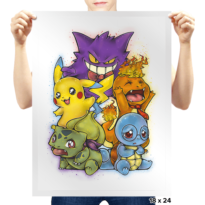 Pokémotion - Prints - Posters - RIPT Apparel