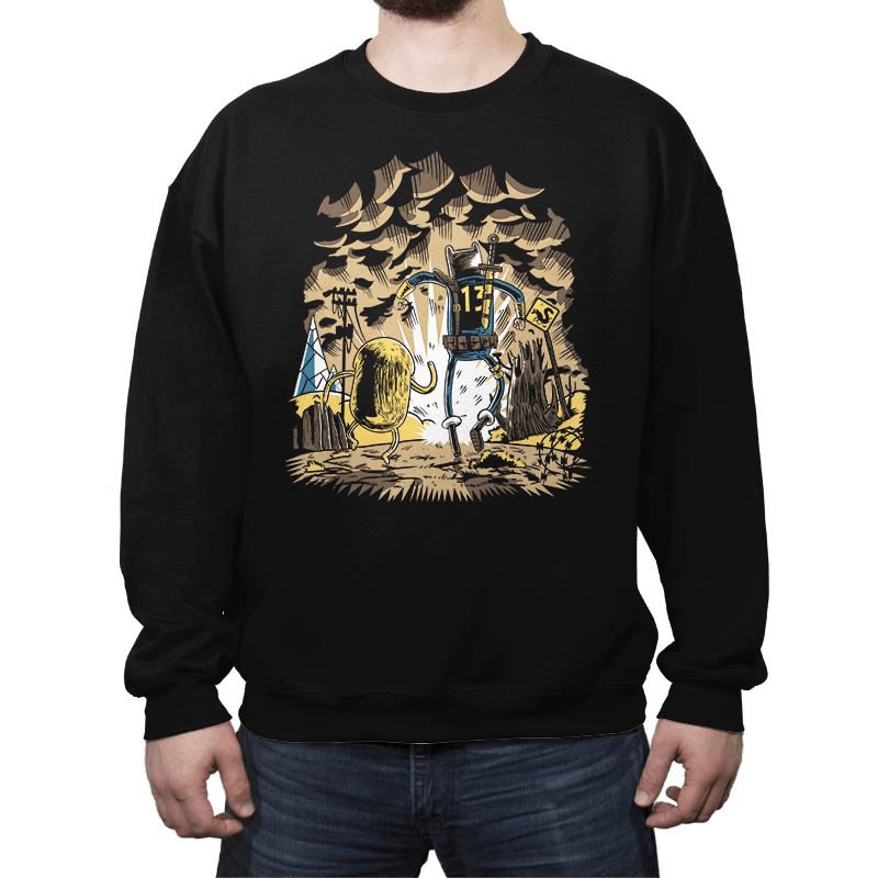 Wasteland Time - Crew Neck - Crew Neck - RIPT Apparel