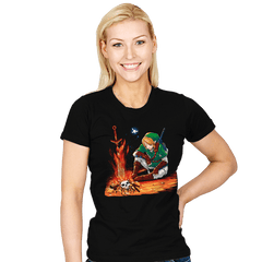 Dark Link - Womens - T-Shirts - RIPT Apparel