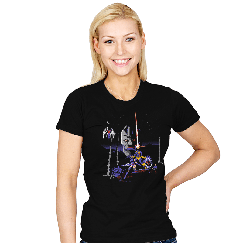 Mutant Wars - Apocalypse  - Womens - T-Shirts - RIPT Apparel