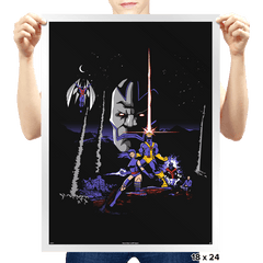 Mutant Wars - Apocalypse  - Prints - Posters - RIPT Apparel