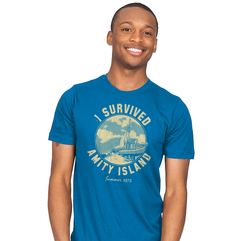 Surviving Amity - Mens - T-Shirts - RIPT Apparel