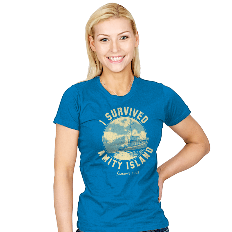 Surviving Amity - Womens - T-Shirts - RIPT Apparel