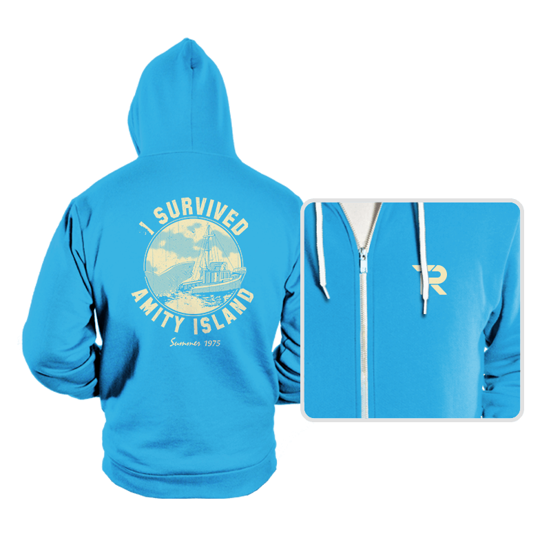 Surviving Amity - Hoodies - Hoodies - RIPT Apparel