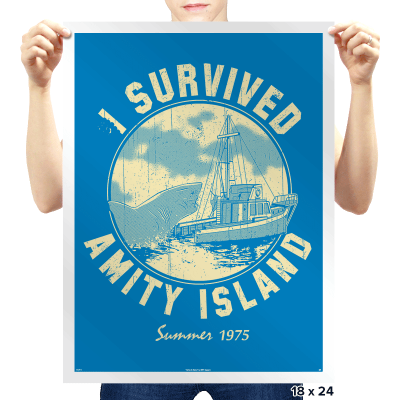 Surviving Amity - Prints - Posters - RIPT Apparel