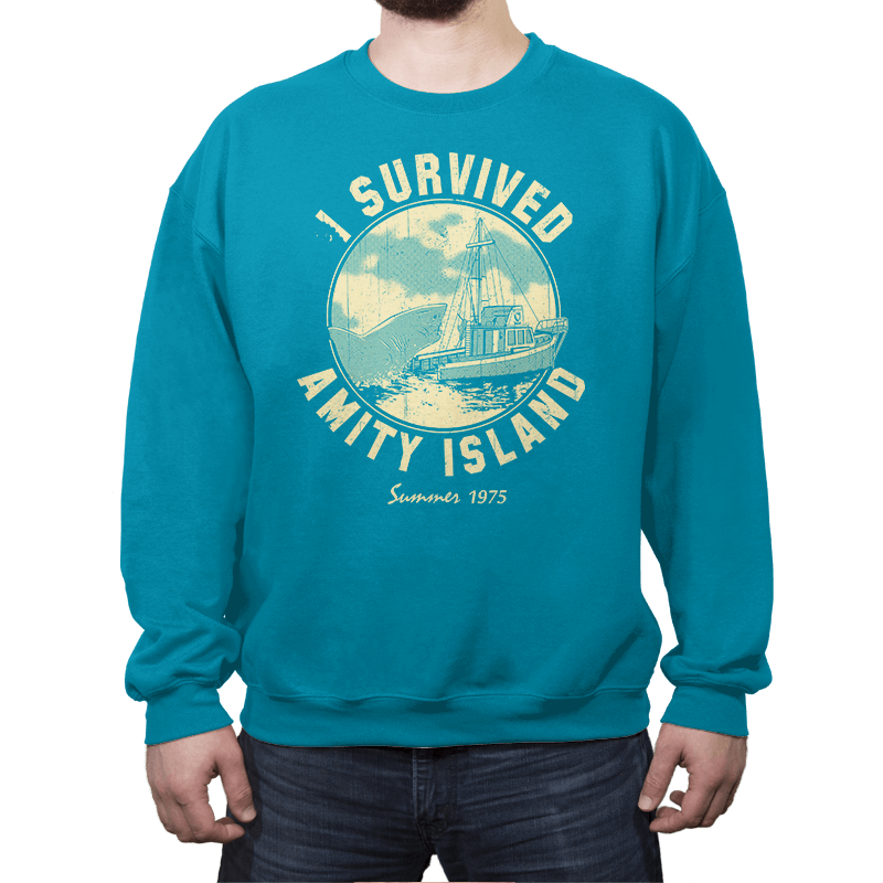 Surviving Amity - Crew Neck - Crew Neck - RIPT Apparel