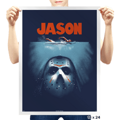 Below the Lake - Prints - Posters - RIPT Apparel