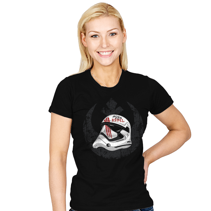 Born to Rebel - Womens - T-Shirts - RIPT Apparel