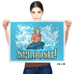Sploosh! - Prints - Posters - RIPT Apparel