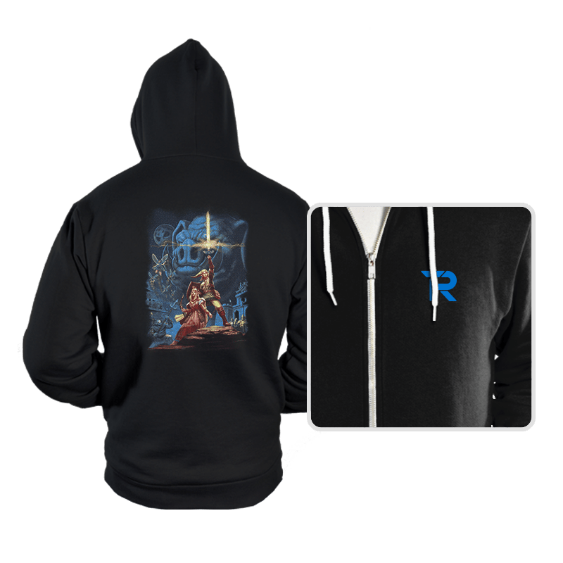 Link Wars - Hoodies - Hoodies - RIPT Apparel