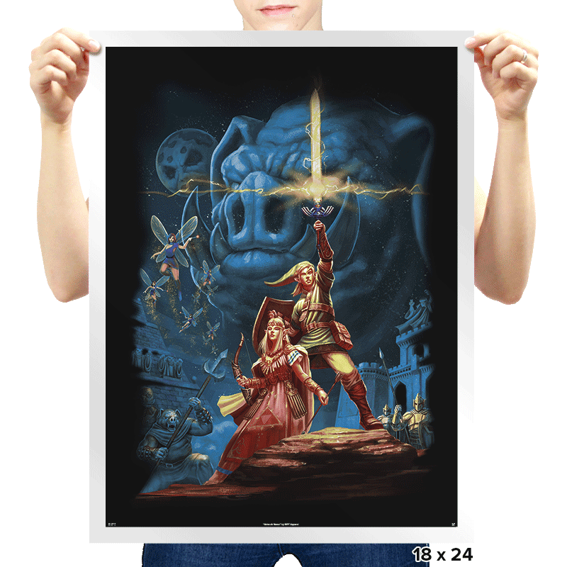 Link Wars - Prints - Posters - RIPT Apparel