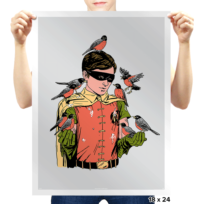 Crazy Bird Lady - Prints - Posters - RIPT Apparel