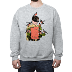 Crazy Bird Lady - Crew Neck - Crew Neck - RIPT Apparel