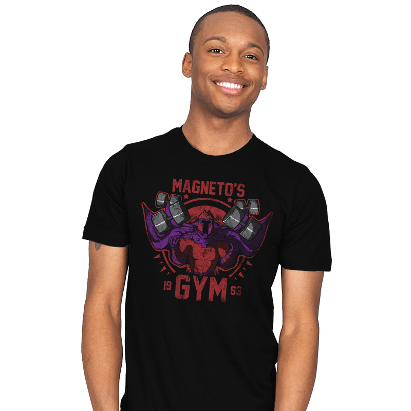 Magnet Gym - Mens - T-Shirts - RIPT Apparel