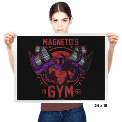 Magnet Gym - Prints - Posters - RIPT Apparel