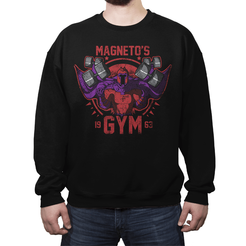 Magnet Gym - Crew Neck - Crew Neck - RIPT Apparel