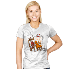 Evolutionary Self-Portrait: Fire - Womens - T-Shirts - RIPT Apparel