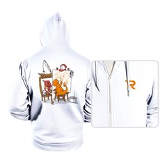 Evolutionary Self-Portrait: Fire - Hoodies - Hoodies - RIPT Apparel