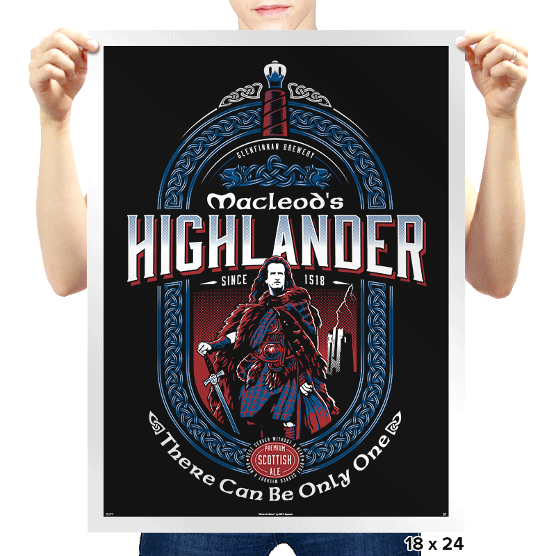 Macleod's Scottish Ale - Prints - Posters - RIPT Apparel