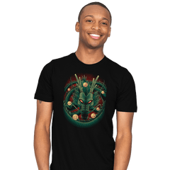 God Dragon - Mens - T-Shirts - RIPT Apparel