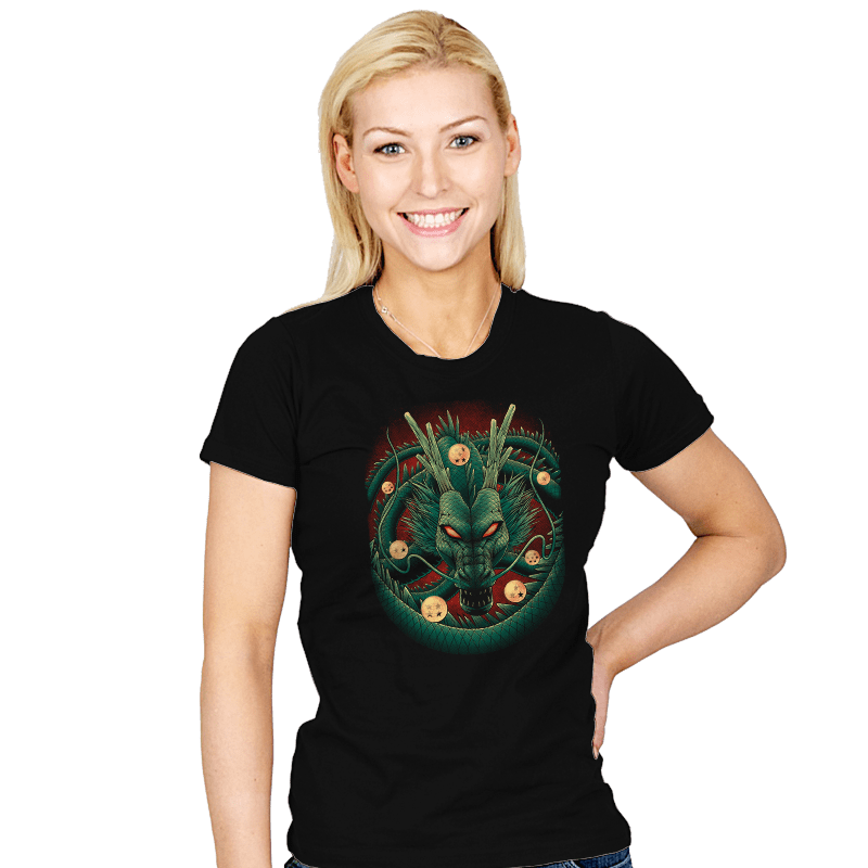 God Dragon - Womens - T-Shirts - RIPT Apparel
