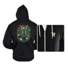 God Dragon - Hoodies - Hoodies - RIPT Apparel