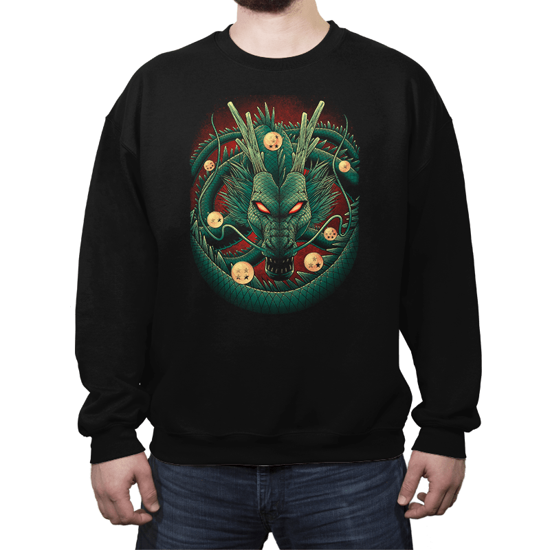God Dragon - Crew Neck - Crew Neck - RIPT Apparel