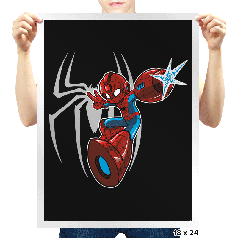 Mega Spidy - Prints - Posters - RIPT Apparel