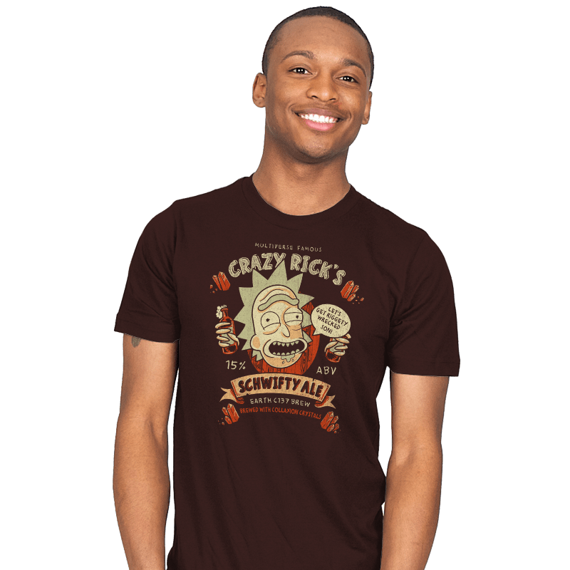Schwifty Ale - Mens - T-Shirts - RIPT Apparel