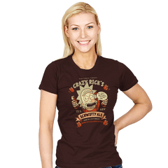 Schwifty Ale - Womens - T-Shirts - RIPT Apparel