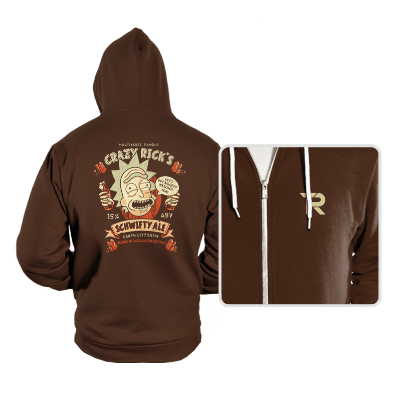 Schwifty Ale - Hoodies - Hoodies - RIPT Apparel