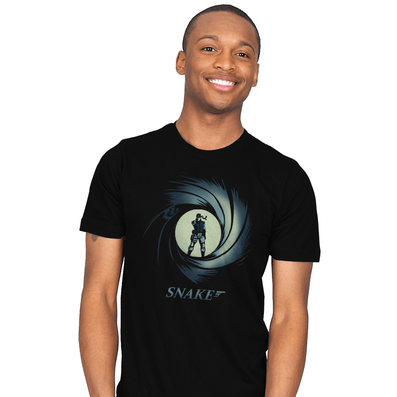 Snake, Solid Snake - Mens - T-Shirts - RIPT Apparel