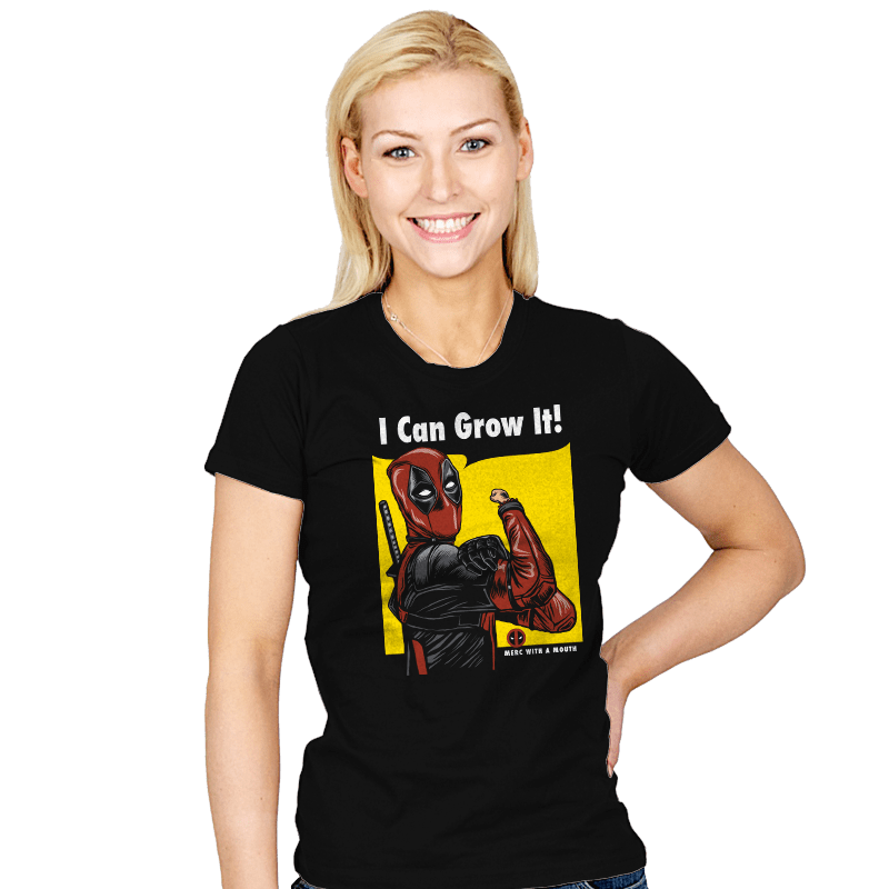 I Can Grow It! - Womens - T-Shirts - RIPT Apparel