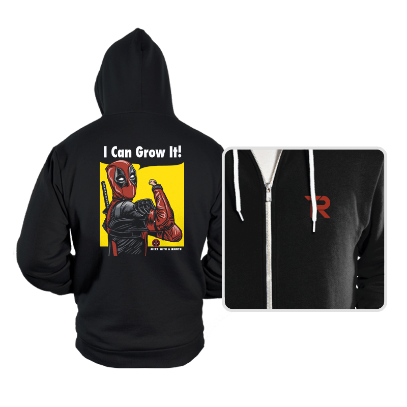 I Can Grow It! - Hoodies - Hoodies - RIPT Apparel