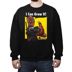 I Can Grow It! - Crew Neck - Crew Neck - RIPT Apparel