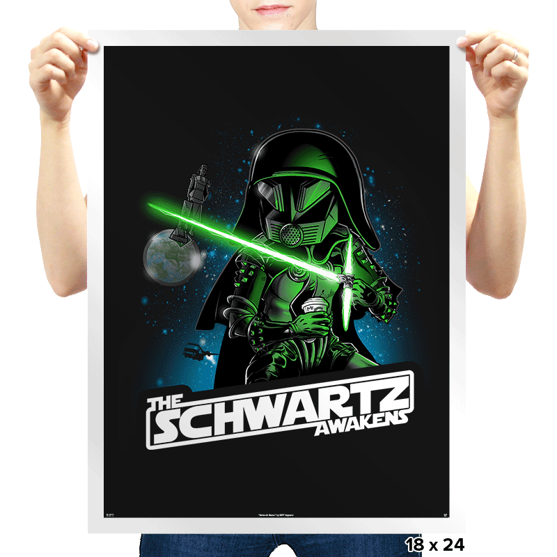 The Schwartz Side - Prints - Posters - RIPT Apparel