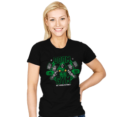 Doom Gym - Womens - T-Shirts - RIPT Apparel