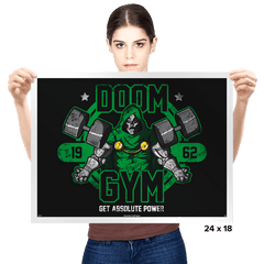 Doom Gym - Prints - Posters - RIPT Apparel