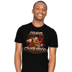 I Have Over 9000 - Mens - T-Shirts - RIPT Apparel
