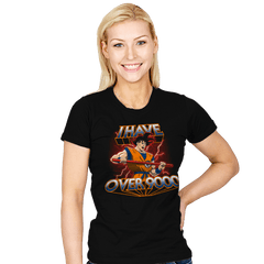 I Have Over 9000 - Womens - T-Shirts - RIPT Apparel